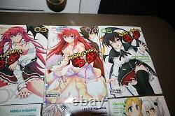 High School DxD Manga Books Volumes 1-10 Great Condition English Set