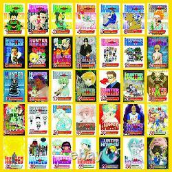 Hunter X Hunter Vol. 1-36 English Manga Graphic Novel Series Set Collection NEW