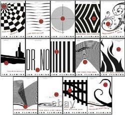 Ian Fleming's ORIGINAL JAMES BOND Series 1953-1966 Collection Set of Books 1-14
