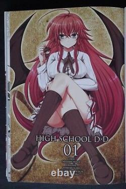 JAPAN Hiroji Mishima manga LOT High School DxD vol. 111 Complete Set
