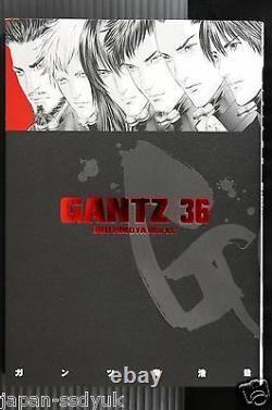 JAPAN Hiroya Oku manga LOT Gantz vol. 137 Complete Set