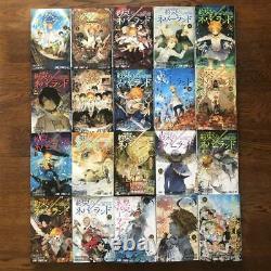 Japanese Language The Promised Neverland vol. 1-20 Complete set Comics Manga FS