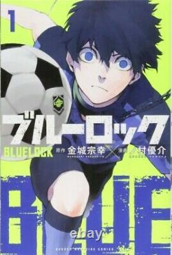 Japanese Manga Boys Comic Book BLUELOCK BLUE LOCK 1-14 set Shonen Magazine DHL