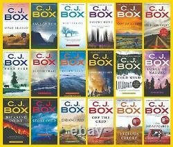 Joe Pickett Series Collection Set Books 1-20 MM Paperback By C J Box BRAND NEW