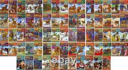 John Erickson HANK THE COWDOG Series Collection PAPERBACK Set of Books 1-71