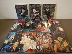 Jujutsu Kaisen English Version Vol. 0-10 Full Set Anime Book Manga New in shrink