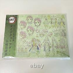 Kimetsu no Yaiba Demon Slayer Art Book Character Sheets set of 3 books Anime
