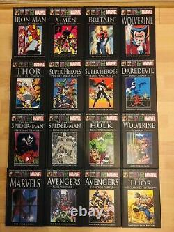 MARVEL THE ULTIMATE GRAPHIC NOVELS COLLECTION 64 Books Comic Graphic Issue Set