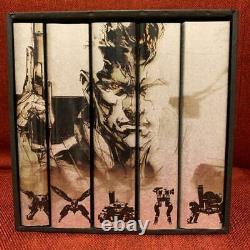 METAL GEAR SOLID COLLECTION Complete Art Set 25th Anniversary Yoji Shinkawa Book
