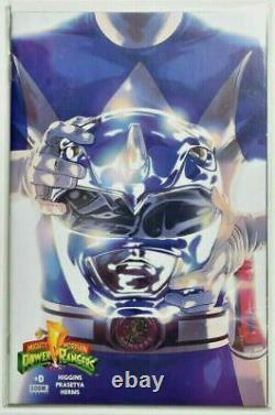 Mighty Morphin Power Rangers #0 Complete set of 5 Comic Book Helmet Variants