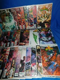 Mighty Morphin Power Rangers 1-55 Complete Comic Lot Set Boom Studios 80 Books