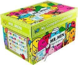 Mr. Men My Complete Collection 48 Books Box Set Mr. Tickle, Mr. Lazy, Mr. Happy