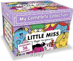 My Complete Little Miss 36 Books Collection Box Set NEW SEALED FREE 24HRS