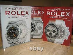 PATRIZZI MONDANI ROLEX WRISTWATCH SUBMARINER 2 Book Set OUT OF PRINT