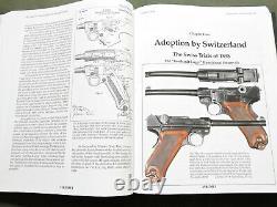 PISTOLE PARABELLUM GERMAN WW1 WW2 P-08 LUGER 3 VOLUME REFERENCE BOOK SET Good