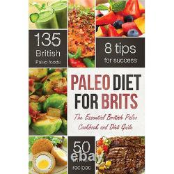 Paleo Diet Collection 3 Books Set Healthy Eating Delicious Recipes Cookbook