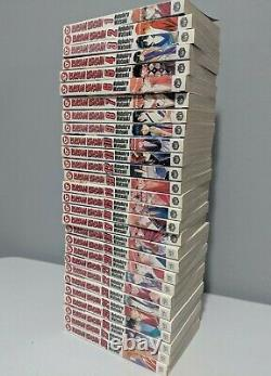 Rurouni Kenshin COMPLETE Set First Print Manga Book Lot Vol 1-28 English