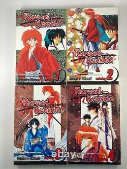 Rurouni Kenshin Vol 1-28 Complete Series Set English Manga Book Lot