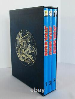 SIGNED 1991 Star Wars ARCHIE GOODWIN, AL WILLIAMSON 3 Vol Set Comic Strip Book