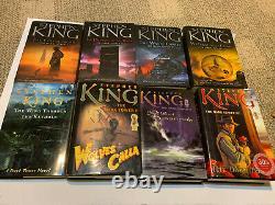STEPHEN KING DARK TOWER NOVEL BOOK HARDCOVER lot set collection I II III IV +++