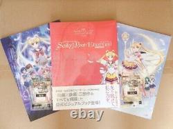 Sailor Moon Eternal Official Visual Art Book Movie Brochure Carddass Part1 2 Set