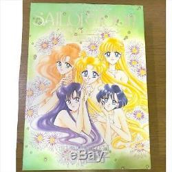 Sailor Moon illustration Art Book vol. 1 2 3 4 5 set USED