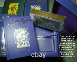 Salvador Dali Deluxe Gilded Deck & Book Set Limited Gold Edition NIB Collectible