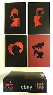 Sin City Frank Miller Library Set Vol I & II HC Hardcover Book Sets withSlipcase