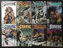 Static 1-45 Complete DC Comic Book Set 1993 1997 First Printings Shock