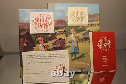 Swarovski Julias World Crystal Figurine Set Nine Figures Book Original Package