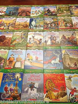 THE COMPLETE SET! NEW Magic Tree House Series Paperback Collection 56 BOOKS Lot