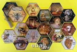Tarot card cards deck honey bee oracle guide book maior minor arcana vintage set