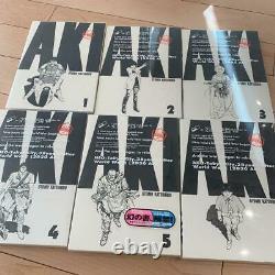 Technicolor All 6 volumes complete set AKIRA-Full color ver First edition Rare