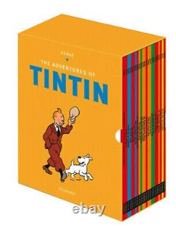 The Adventures of Tintin Complete 23 Books Collection Set