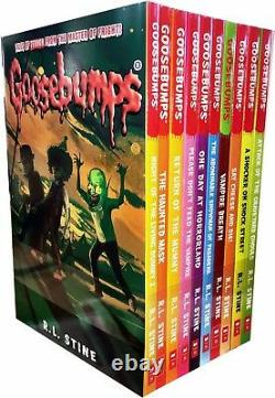 The Goosebumps Collection by R. L. Stine 20 Book Set (Paperback) Horrorland NEW