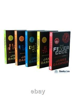 The Maze Runner Series Collection 5 Books Set by James Dashner