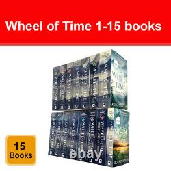 The Wheel of Time Series 1-15 Books Collection Set Pack by Robert Jordan NEW