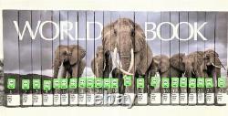 The World Book Encyclopedia 2020 EX LIB Hardcover22 Volume Set