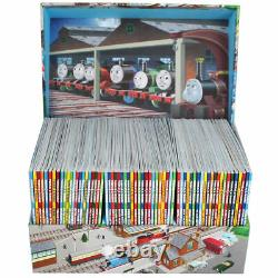 Thomas & Friends Collection 65 Books Boxed Gift Set Story Library, Tank Engine