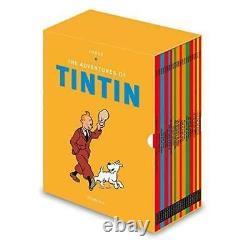 Tintin Paperback Boxed Set 23 Book Titles Set Collection Herge