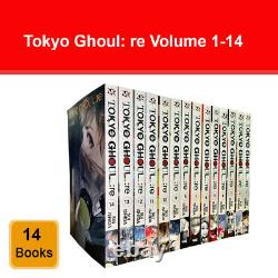 Tokyo Ghoul re Volume 1-14 Collection 14 Books Set by Sui Ishida Anime & Manga