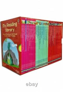 Usborne My Second Reading Library 50 Books Collection Set Pack Early Level 3 & 4