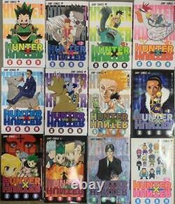 Used HUNTER x HUNTER Volume 1-36 Complete manga comic Set Japanese