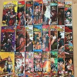 Used MANGA My Hero Academia Comic JP Book Vol. 1-26 set lot Boku no Hero Academia