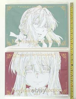 VIOLET EVERGARDEN book keyframes collection 1 2 set kyoto animation official