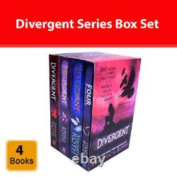 Veronica Roth 4 Books Collection Set Divergent Series Box Set (Books 1-4) PB NEW