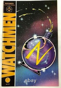 WATCHMEN Complete DC Comic Book Set of 12 1st Prints from 1986 (Excellent)
