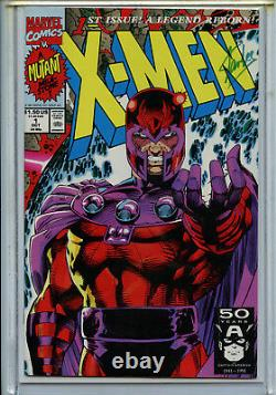 X-Men #1A 1E Stan Lee Signed 5 Book set LTD COA 1991 Amricons