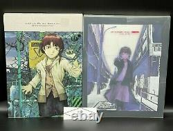 Yoshitoshi ABe an omnipresence in wired SERIAL EXPERIMENTS & Lain Set of 2 BOOKs