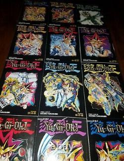 Yu-Gi-Oh! 3 in 1 Edition Manga 35 Vols. English Graphic Novel Set 12 giant books